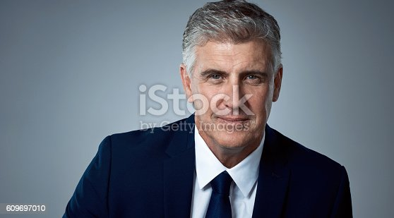 istock Facing business head on 609697010