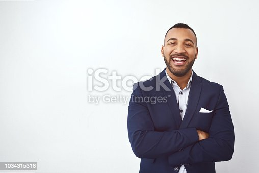 istock Facing business straight on 1034315316