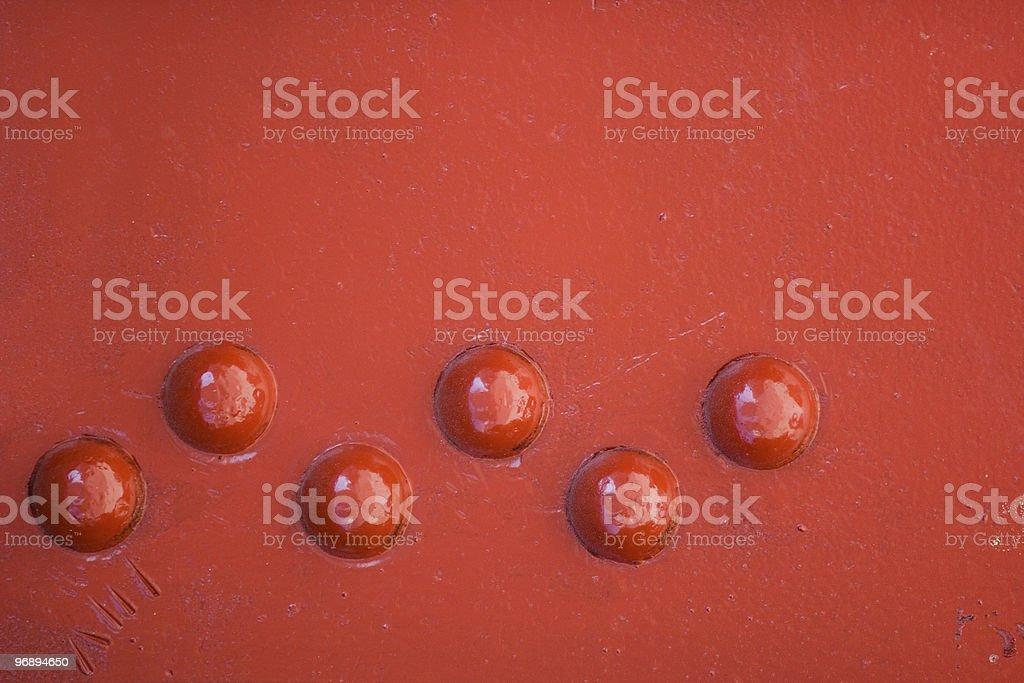 facing rivet royalty-free stock photo