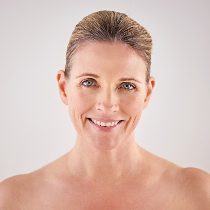 491713766 istock photo Facing the aging process with a carefree attitude 491713724