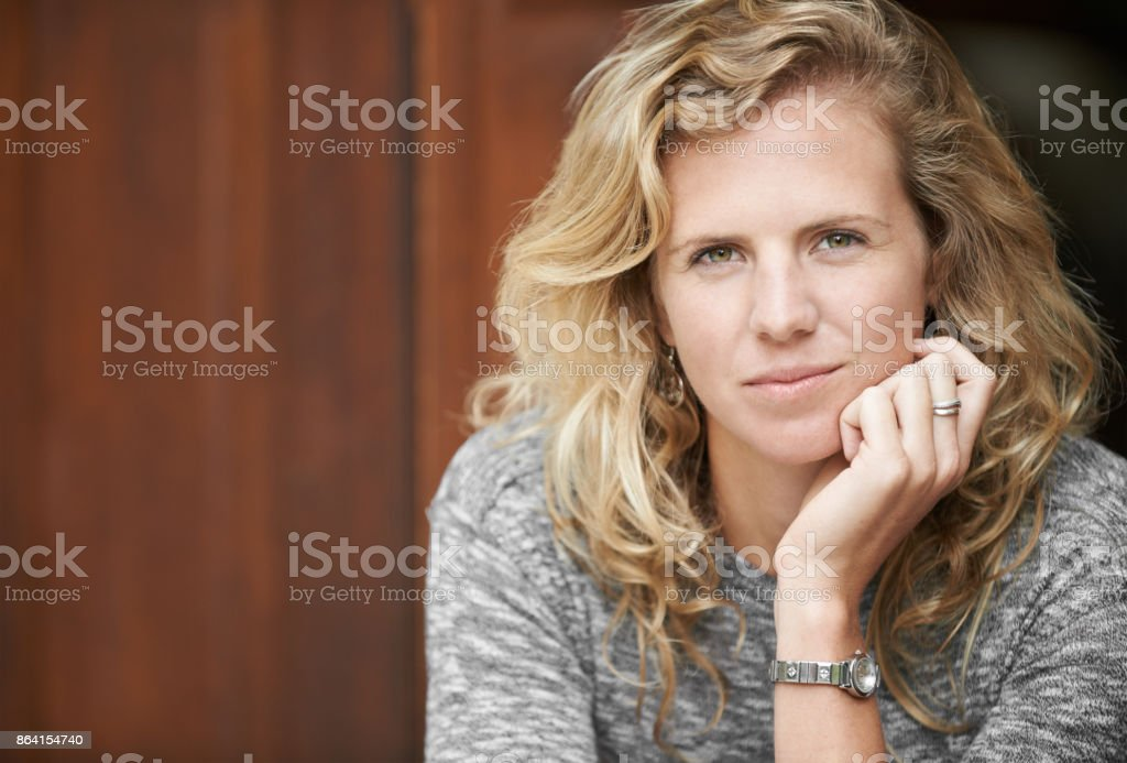 Facing the world as I am royalty-free stock photo