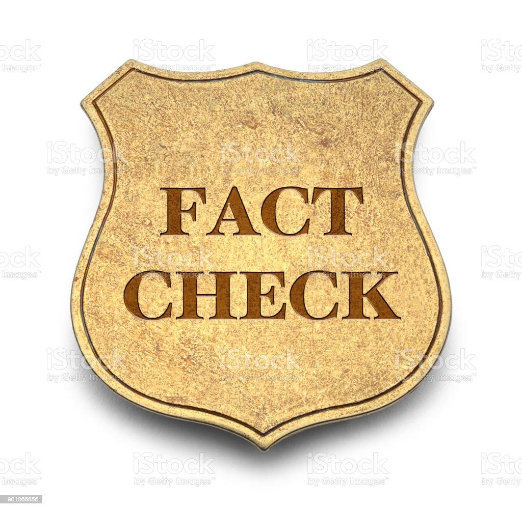 Fact Check stock photo