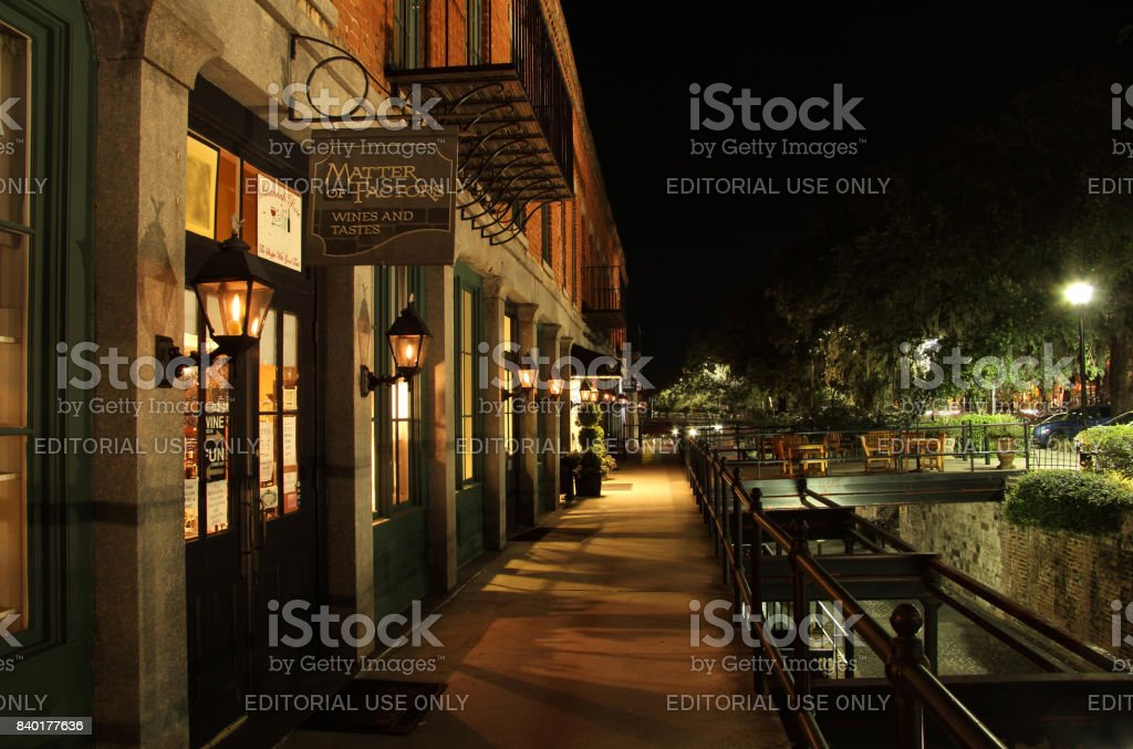Factors Walk stock photo