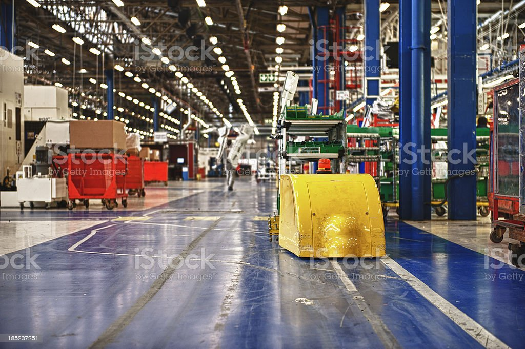 Factory Automation stock photo