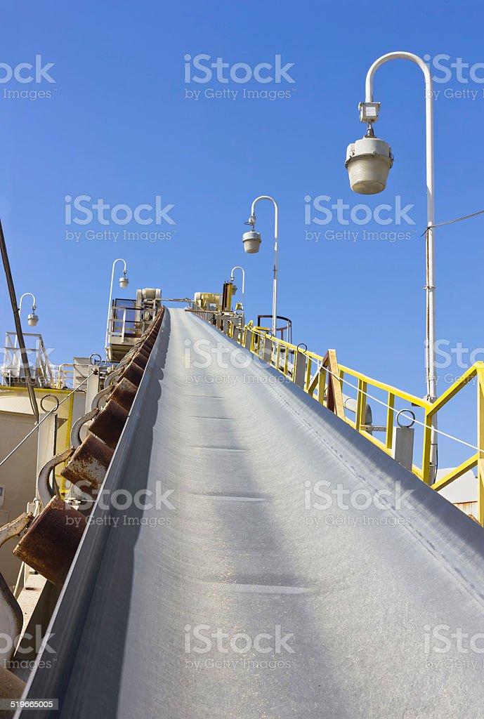 Factory Belt stock photo