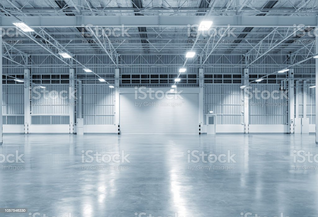 factory building background - Foto stock royalty-free di Acciaio