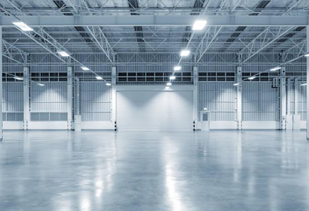 工廠建設背景 - 無人 個照片及圖片檔