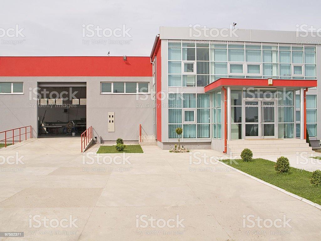Bâtiment d'usine photo libre de droits