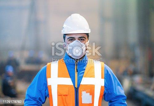 istock Factory Engineer 1129129762