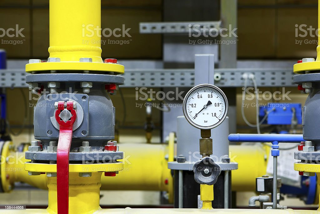 Factory equipment royalty-free stock photo