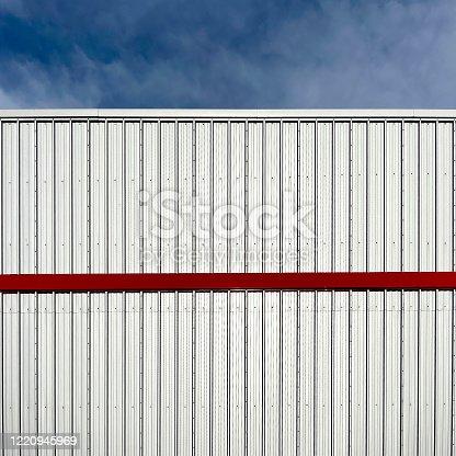 View of a factory facade