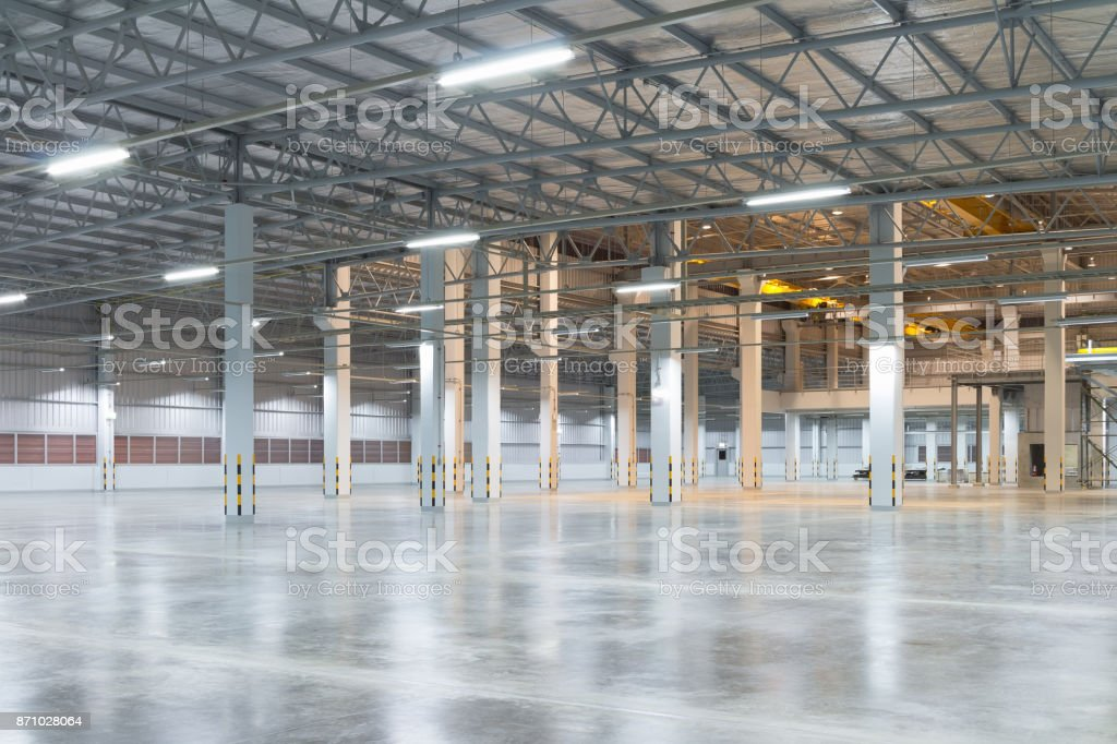Fabrik-Etage-Hintergrund Lizenzfreies stock-foto