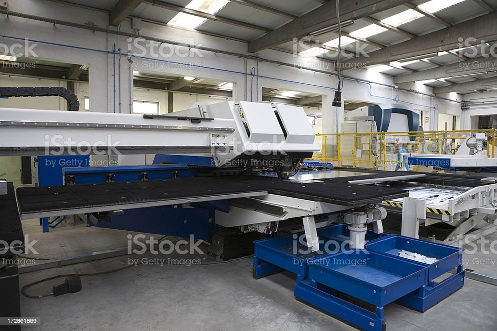 Factory Floor stock photo