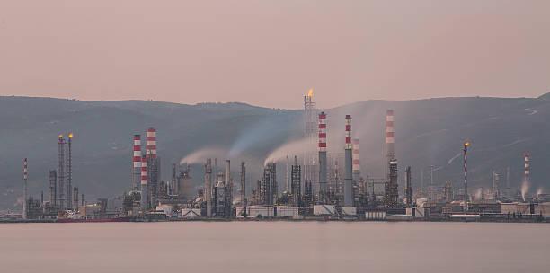 Fabrik Nebel und Rauch. – Foto