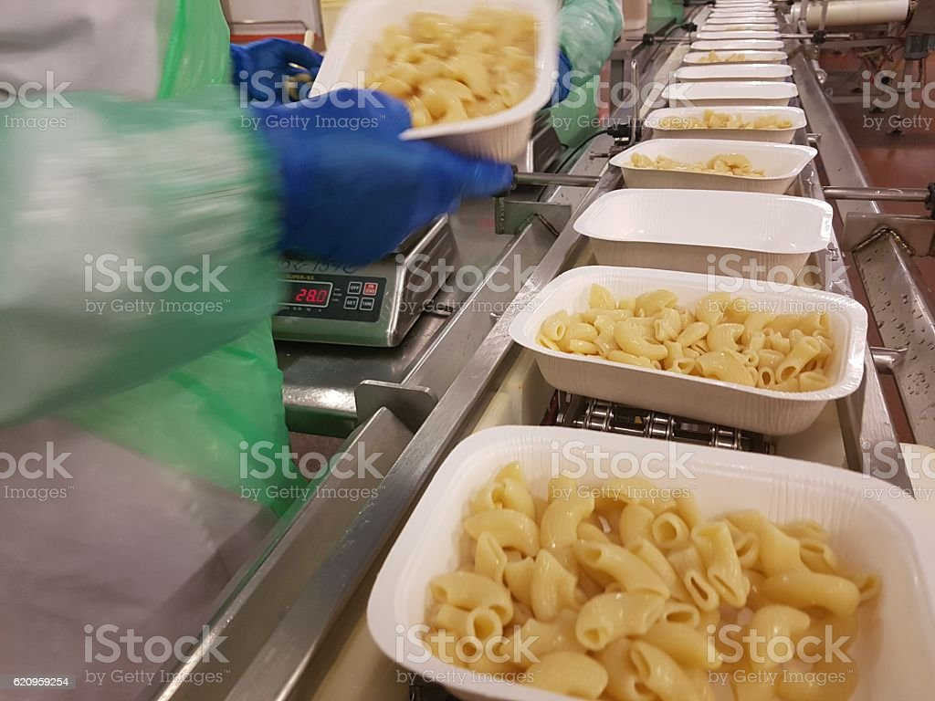Factory Food Manufacturing stock photo