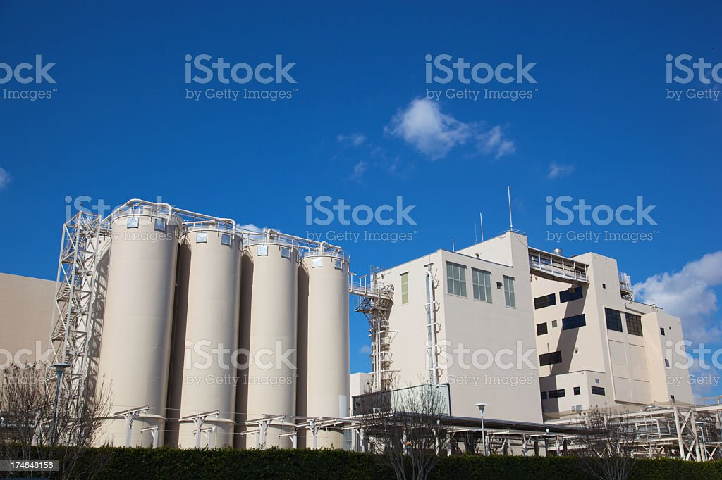 Factory for Large Manufacturing XXXL royalty-free stock photo