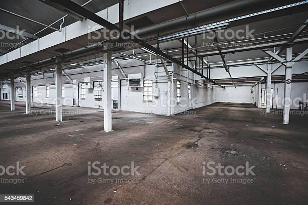 Fabrik Hall Stockfoto und mehr Bilder von Abwesenheit