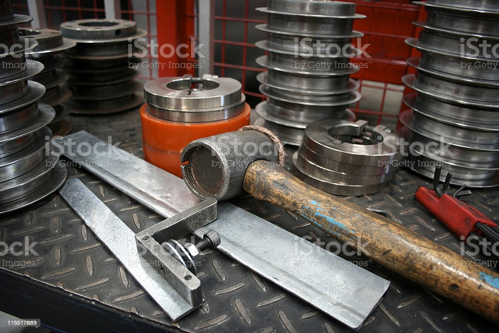 Factory Hand Tools royalty-free stock photo