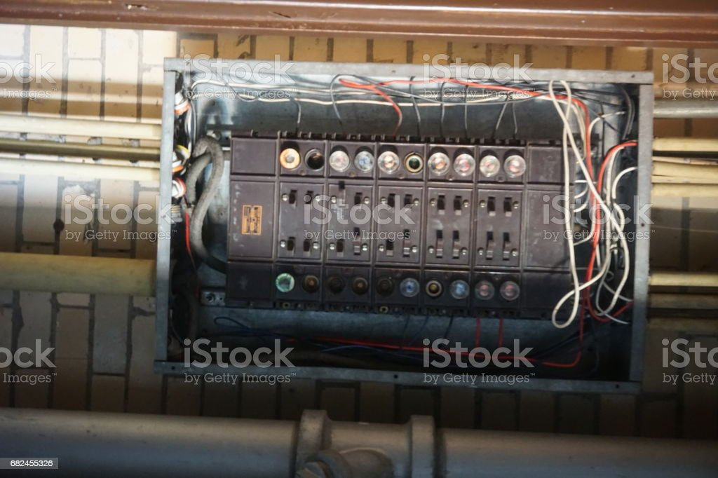 Factory, Industrial Equipment, Machinery, Mechanical, Gears, Conveyors royalty-free stock photo