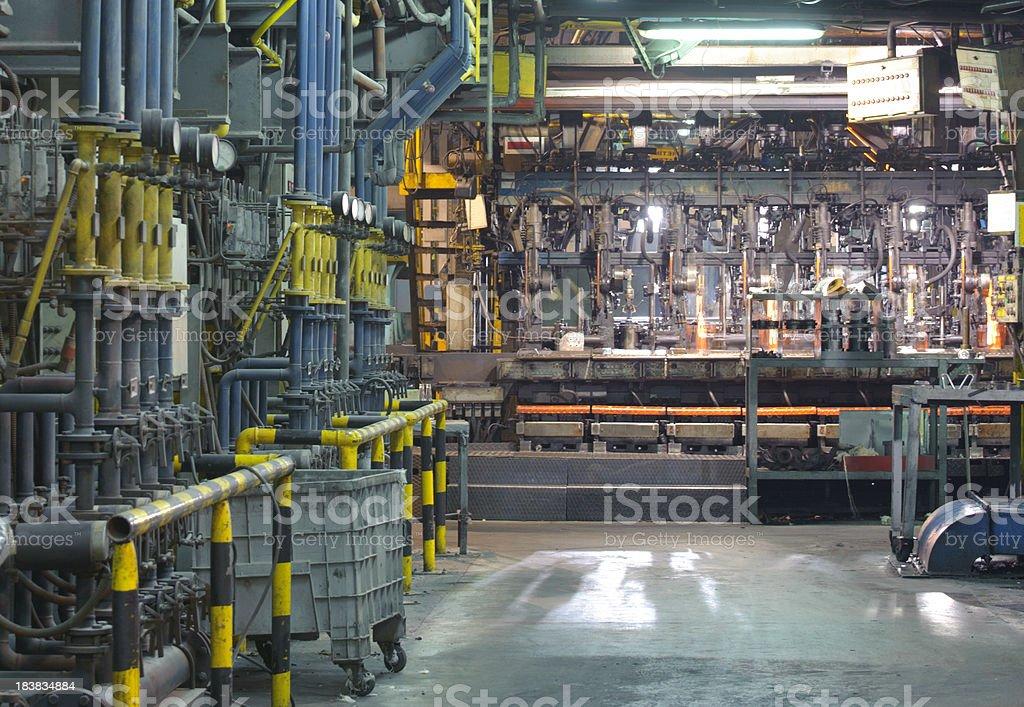 Factory inside stock photo