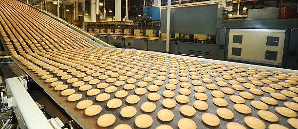factory line and products factory line and products food warehouse stock pictures, royalty-free photos & images