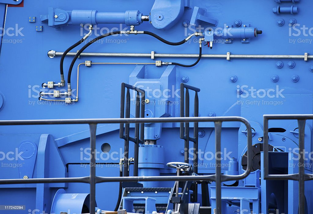 Factory Machine stock photo
