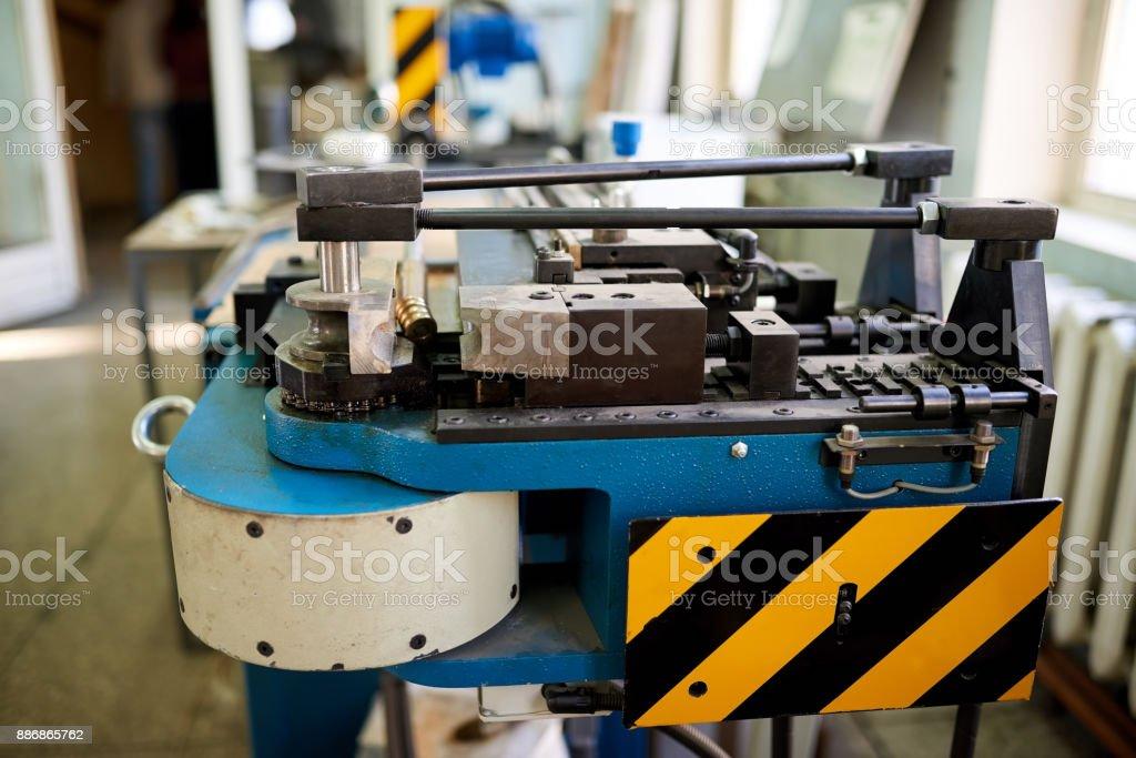 Factory machine. stock photo