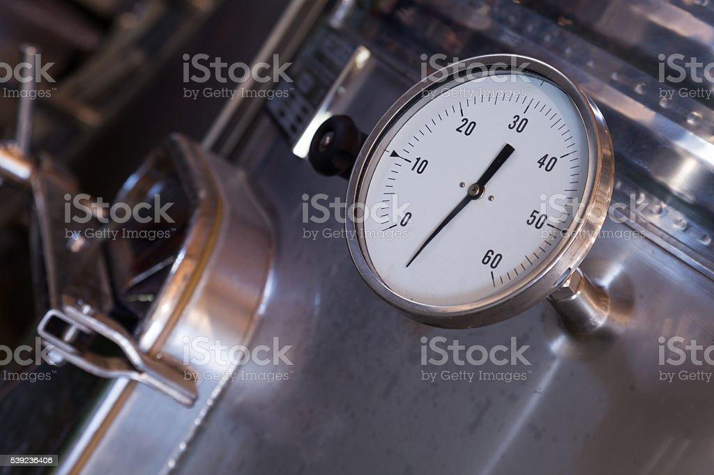 factory machinery closeup royalty-free stock photo