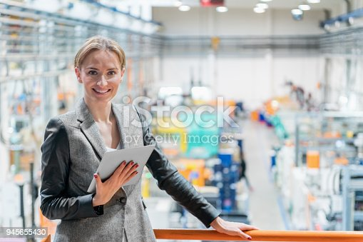istock Factory managing representative 945655430