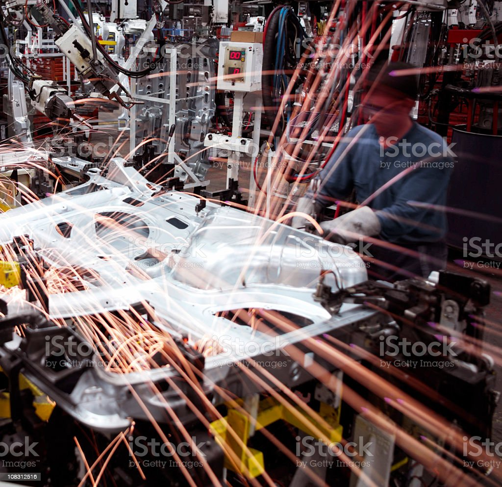 Factory Manufacturing stock photo