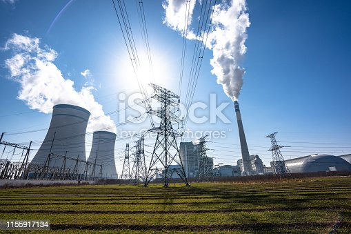power station and factory