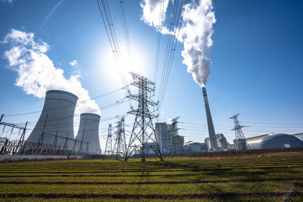 factory or power station power station and factory power station stock pictures, royalty-free photos & images