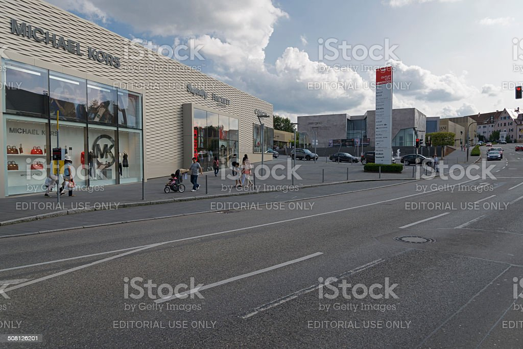 Factory Outlet Metzingen Stock Photo Download Image Now
