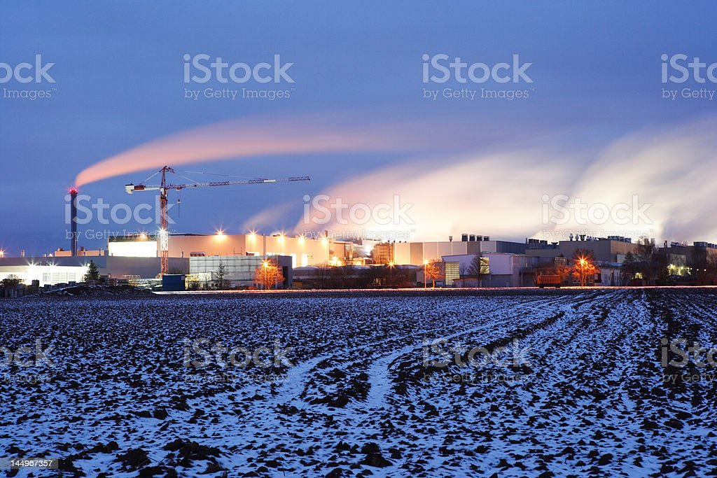 factory (XXL) royalty-free stock photo