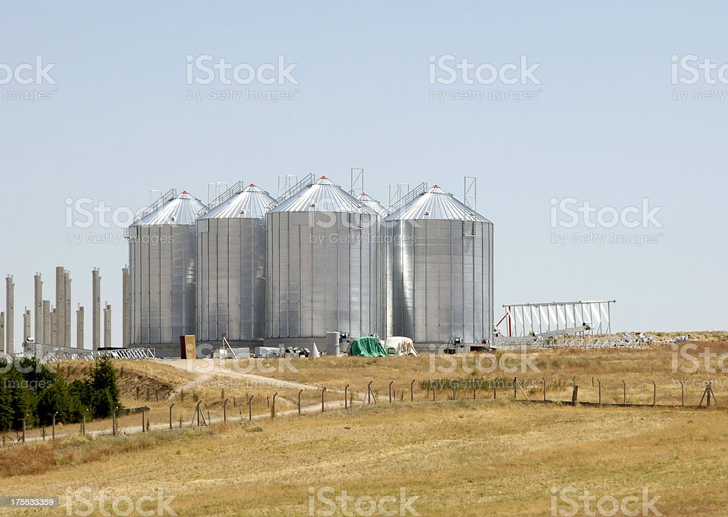 Factory (Click for more) royalty-free stock photo
