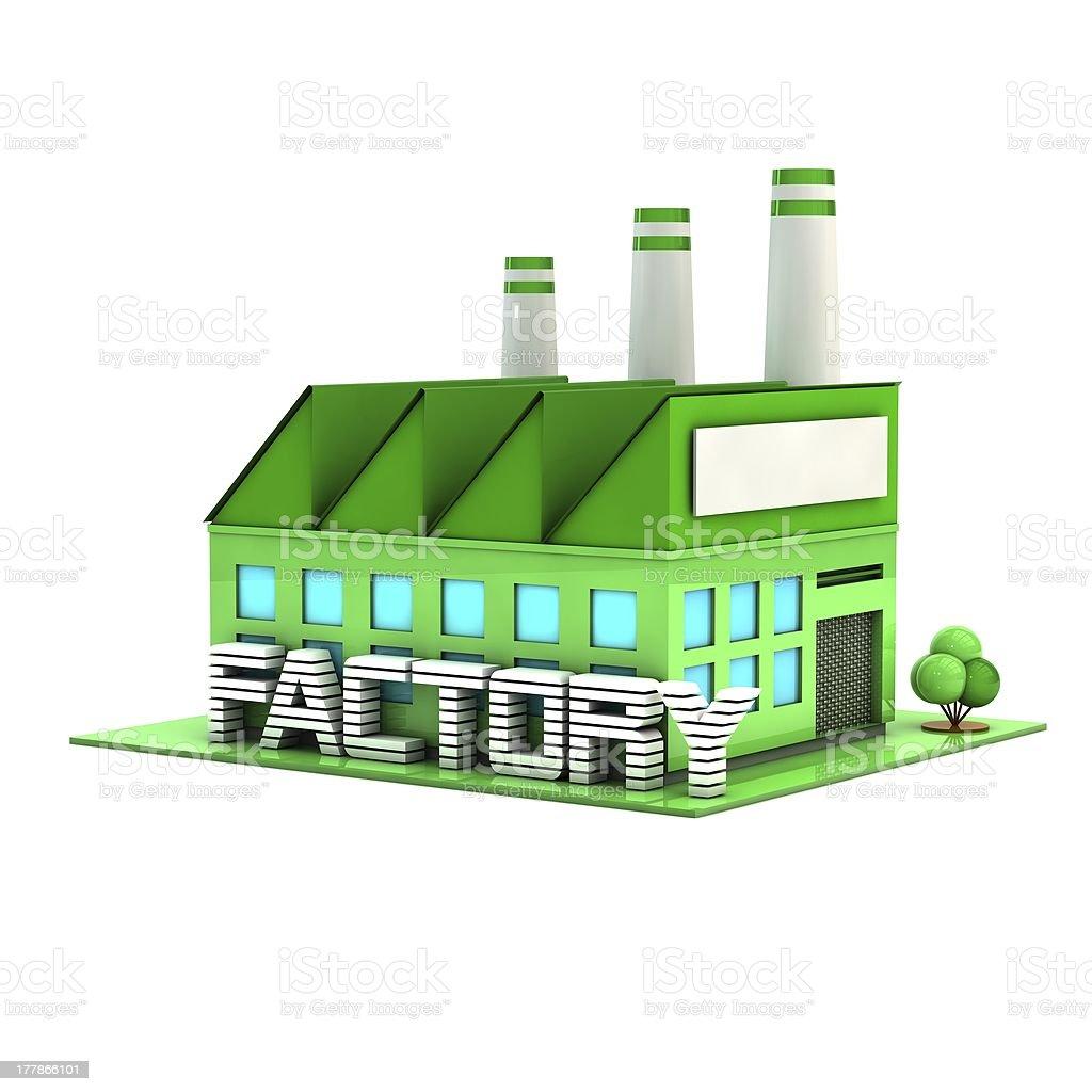 factory. royalty-free stock photo