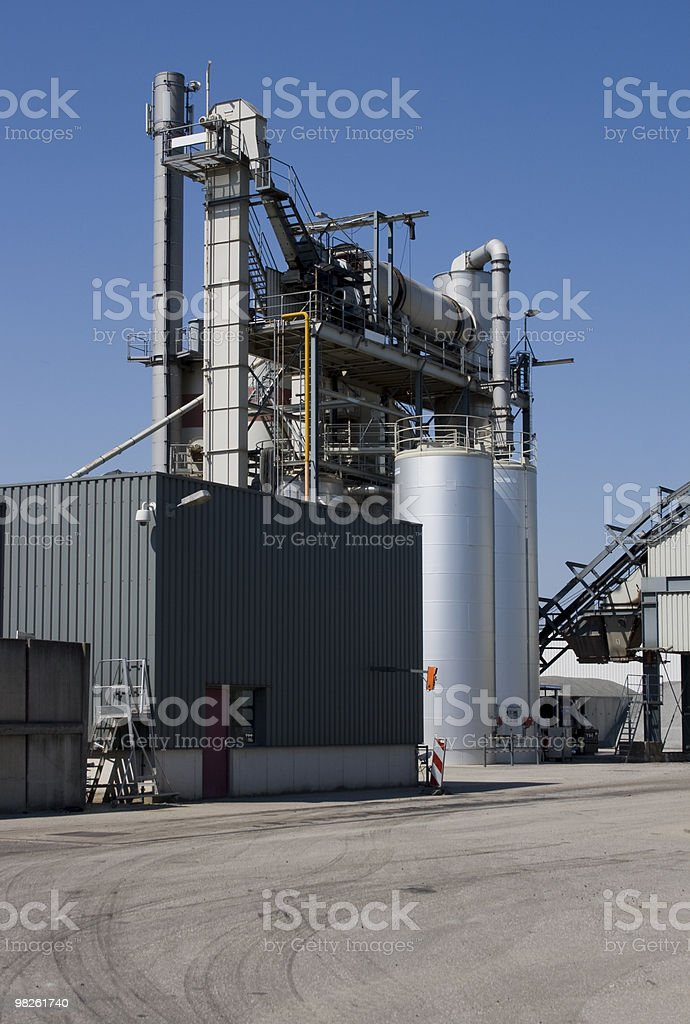 Factory royalty-free stock photo