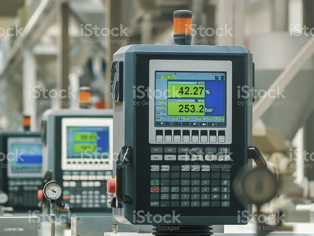 factory producton line stock photo