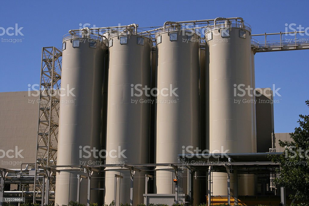 Factory Storage royalty-free stock photo