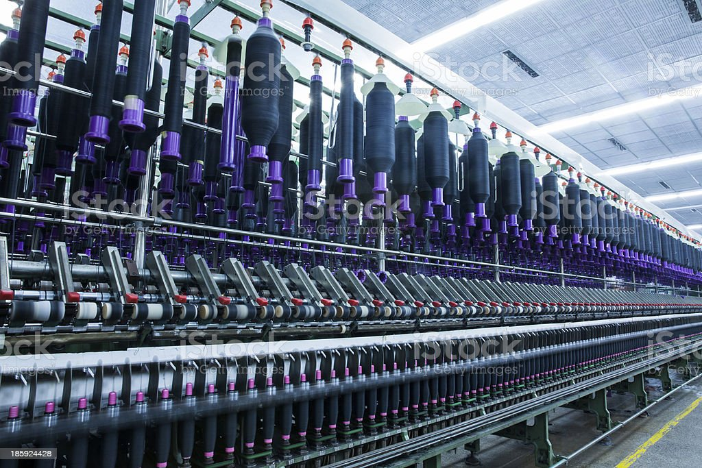 factory, textile mill stock photo