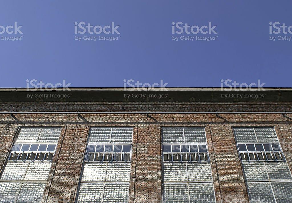 Parete di fabbrica foto stock royalty-free