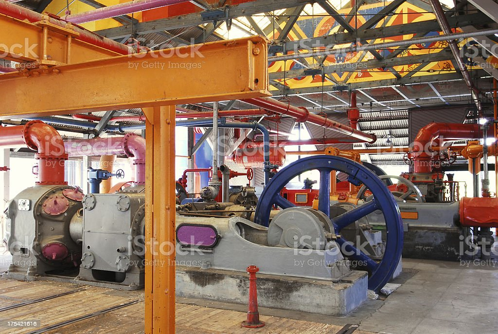 Factory Works stock photo