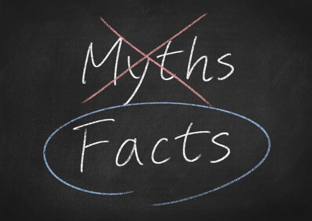 facts facts concept words on a chalkboard background information equipment stock pictures, royalty-free photos & images