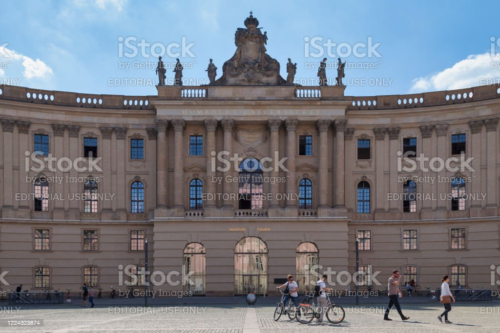Faculty of Law of the Humboldt University of Berlin - Royalty-free Ancient Stock Photo