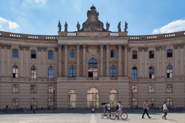 Faculty of Law of the Humboldt University of Berlin stock photo