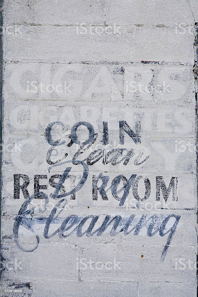 Faded abstract sign royalty-free stock photo