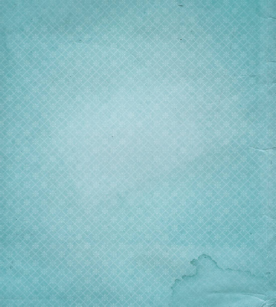 faded blue wallpaper with pattern - watermark stock photos and pictures