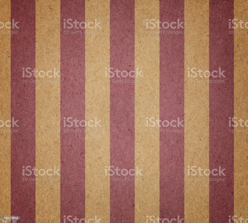 faded brown and red striped paper royalty-free stock photo