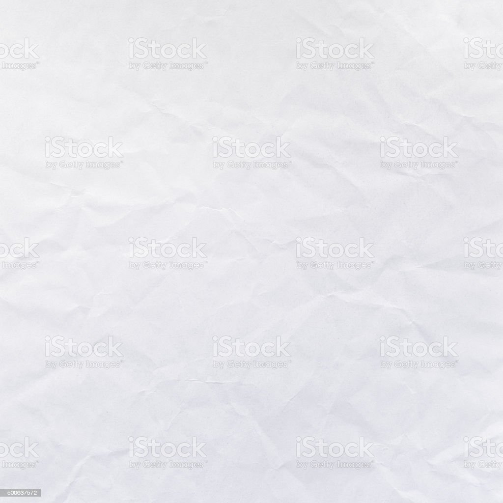 Faded Gray Crumpled Paper Stock Image Texture Background stock photo