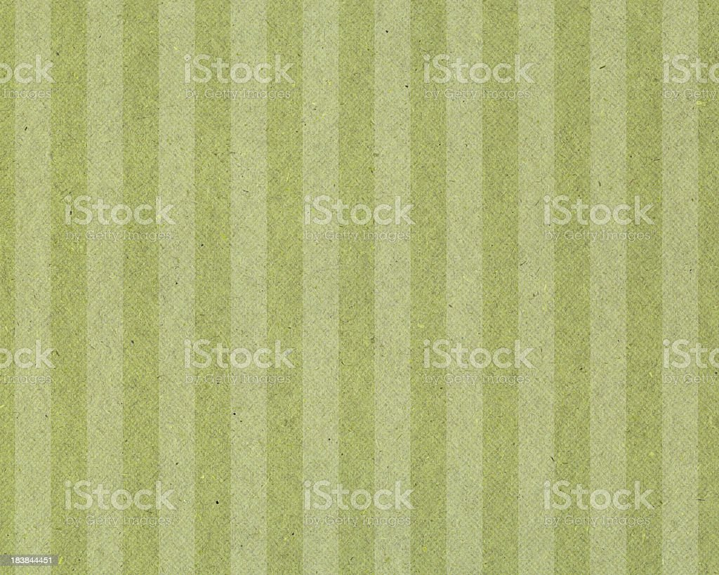 faded green striped paper royalty-free stock photo